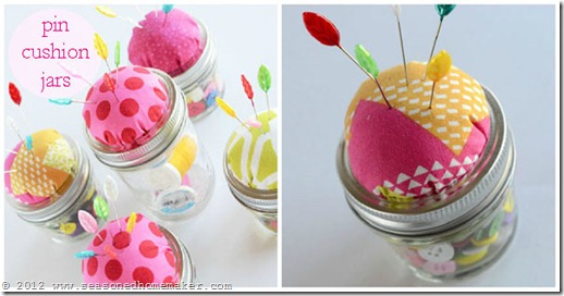 Mason Jar Pin Cushion 17