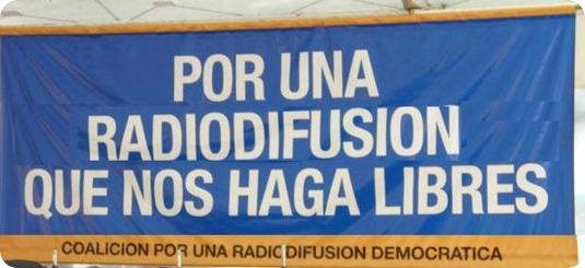 radiodifusión libertad