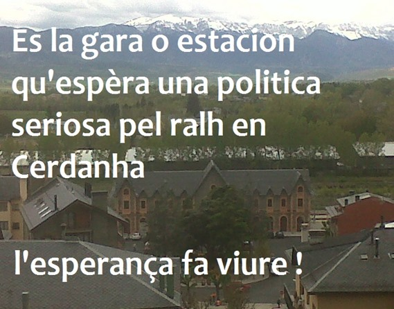 gara de Puigcerdà comentat