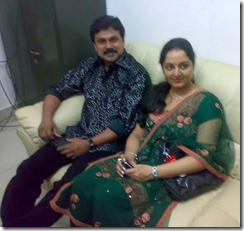 dileep manju warrier family