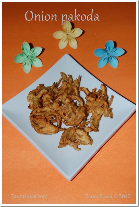 Onion Pakoda / வெங்காய பக்கோடா