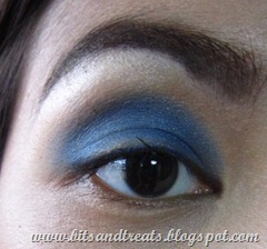 abstract blue eotd, by bitsandtreats