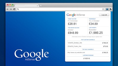 AdSense Chrome Extension