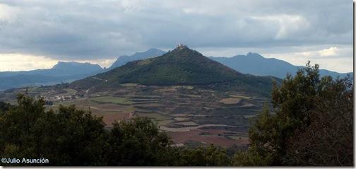 Monjardín desde el Montejurra