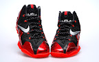 nike lebron 11 gr black red 2 04 New Photos // Nike LeBron XI Miami Heat (616175 001)