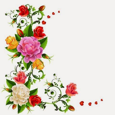 floral roses flores rositas
