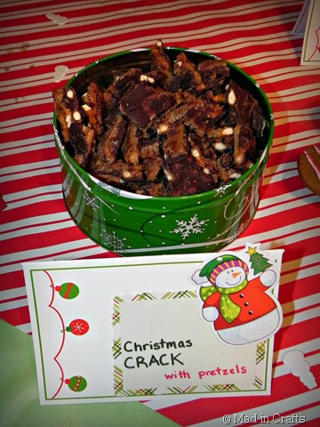 christmas crack with pretzels