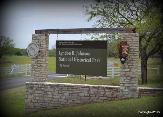 LBJ Ranch Entrance