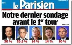 François Hollande favorito em França.Abr.2012