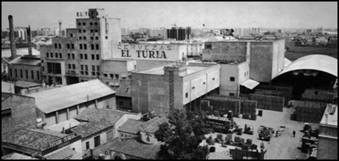 Fábrica de Cervezas El Turia. Ca. 1969 1