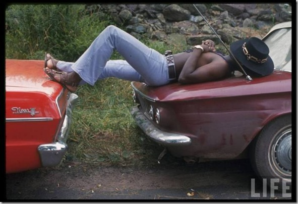 Woodstock, August 1969 by Bill Eppridge