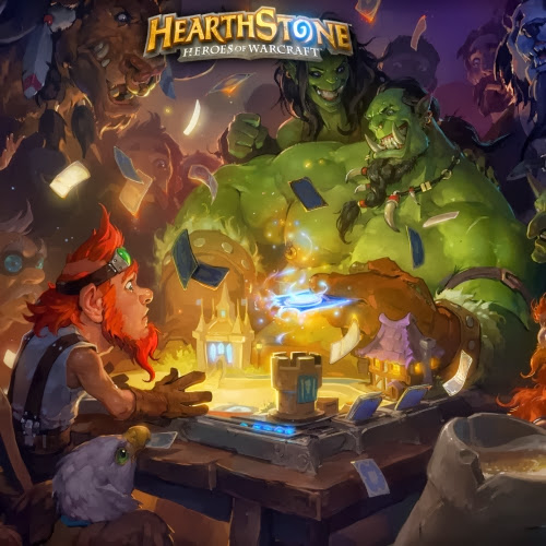Hearthstone: Heroes of Warcraft [L] [RUS / RUS] (2014) [1.0.0.5834]