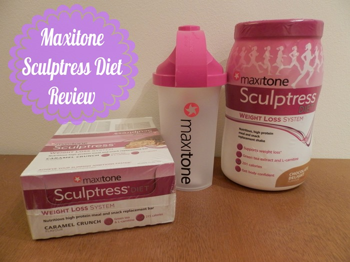 Maxitone sculptress diet review