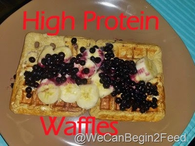 High Protein Waffles