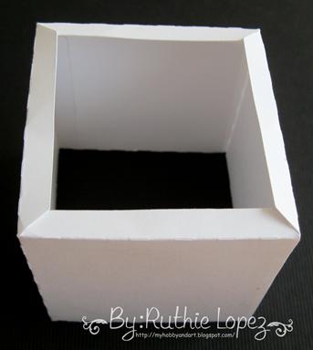 cake box surprise box - Lid SDS - Ruthie Lopez DT 3