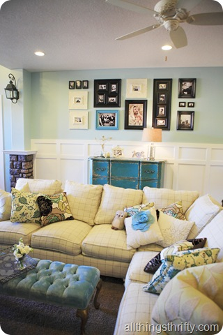 Cottage style Living room ideas