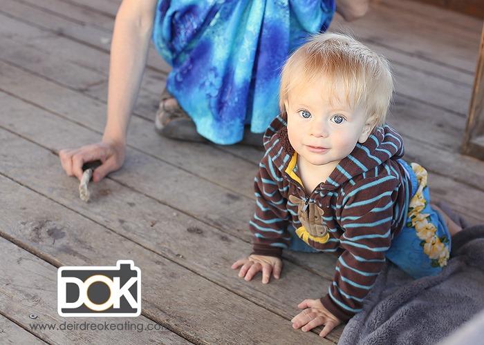 photo of baby in Moab Utah