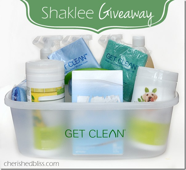 Shaklee-Giveaway cherished bliss
