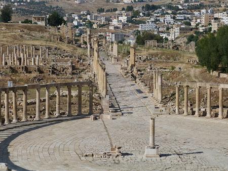 Obiective turistice Iordania: Jerash