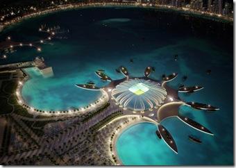 stadioane Qatar 2022 - Doha-Port-stadium