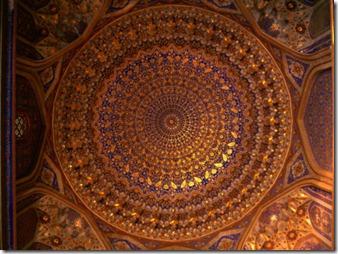 martin-moos-ceiling-inside-dome-of-tilla-kari-medressa-uzbekistan