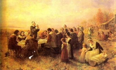 Thanksgiving in Plymouth