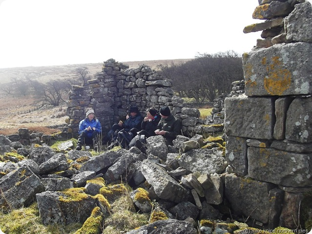 sheltering in west loups's ruins