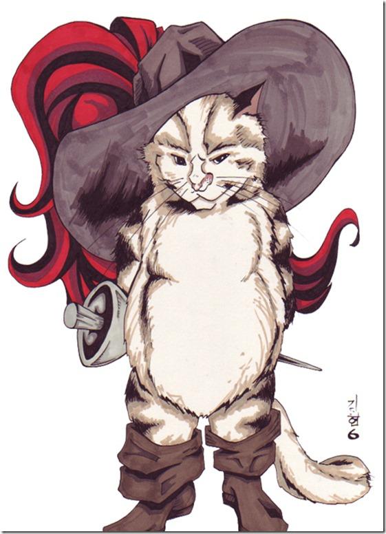 El Gato con Botas,El gato maestro,Cagliuso, Charles Perrault,Master Cat, The Booted Cat,Le Maître Chat, ou Le Chat Botté (167)