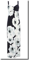 Wallis Ink Poppy Print Maxi Dress