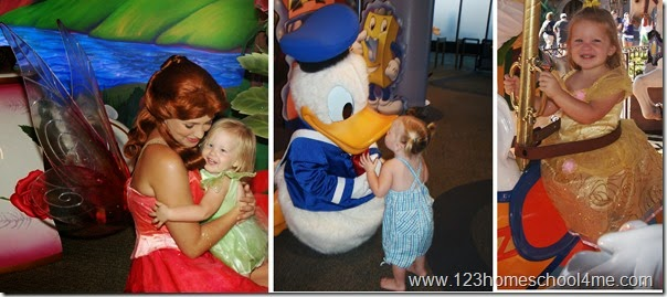 Toddlers at Disney World