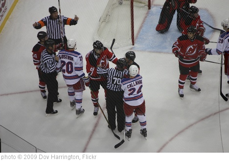 'Rangers @ Devils 02/09/09' photo (c) 2009, Dov Harrington - license: http://creativecommons.org/licenses/by/2.0/