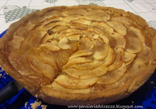Apple Creamy Tarte