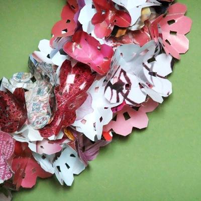 riciclo creativo fiori di carta