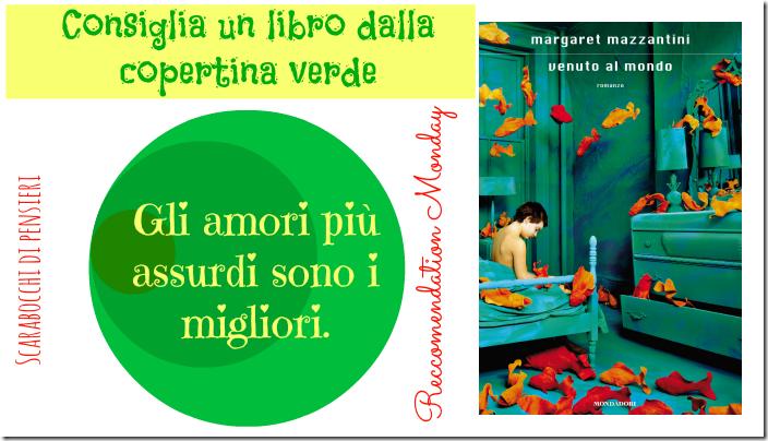 reccomendation monday copertina verde scarabocchi di pensieri