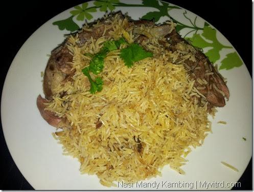 Nasi Arab Mandy Kambing 17
