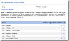 tariffe Italia by Google