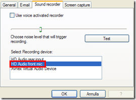 KidLogger - Sound recorder