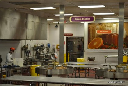 Inside the chocolate factory