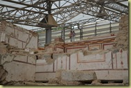 Ephesus House looking up a floor