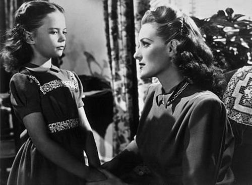 Natalie Wood and Maureen O'Hara