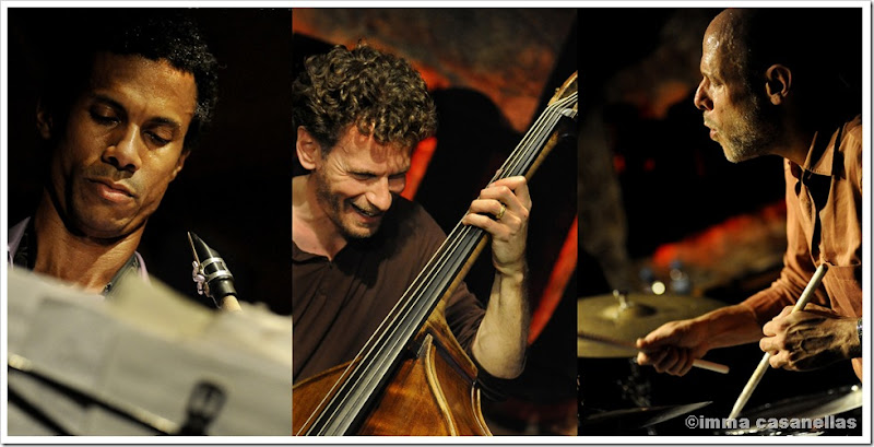 Mark Turner, Larry Grenadier, Jeff Ballard a la Sala Jamboree, Barcelona 2012