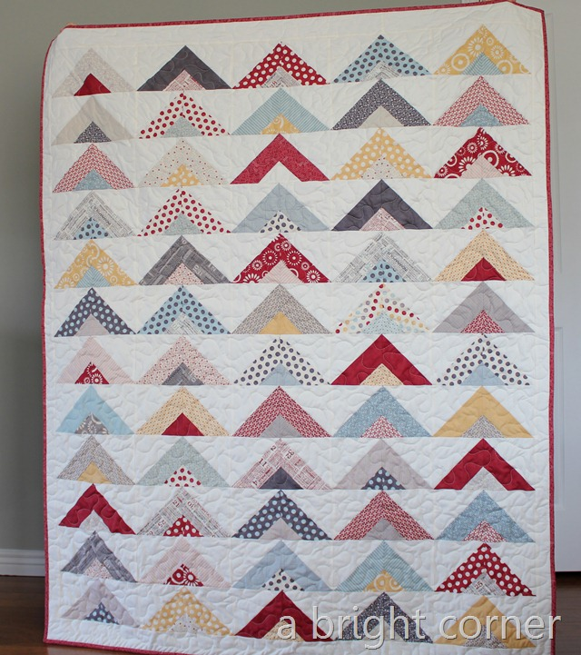 Right Turn Only quilt with tutorial!