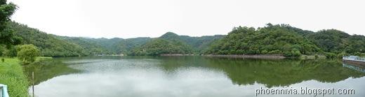 龍潭湖全景