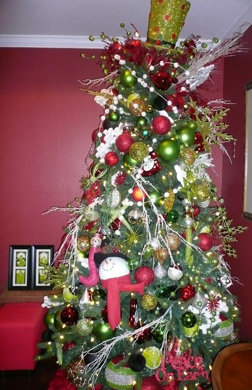 Snowman tree 2011