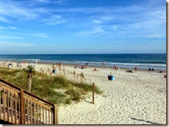 Public beach access in Emerald Isle NC