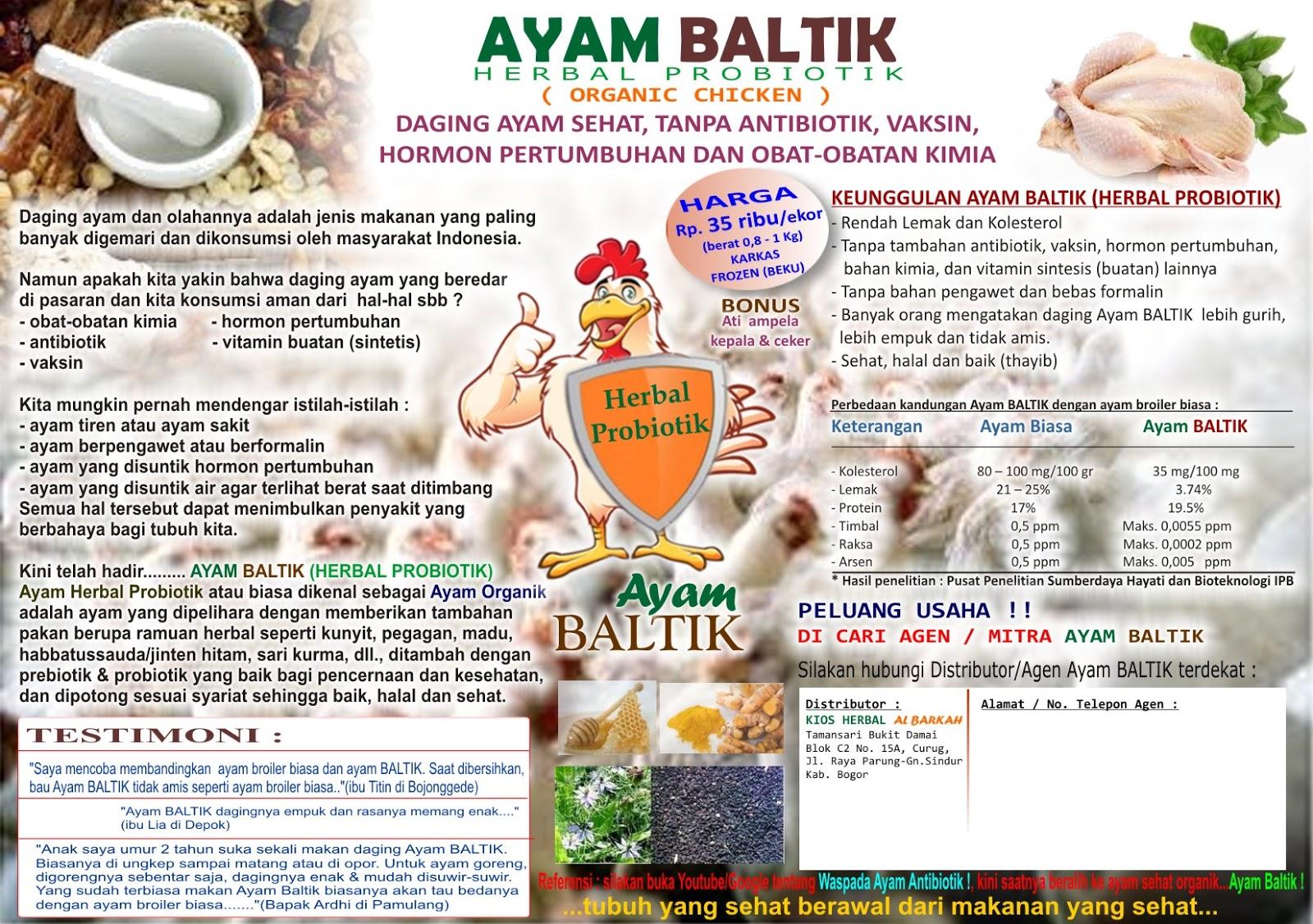 Ayam HerBAL ProbioTIK Organik: Tentang kami