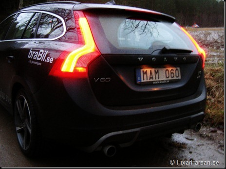 Volvo V60 T6 AWD Black R Aut Rear Bak
