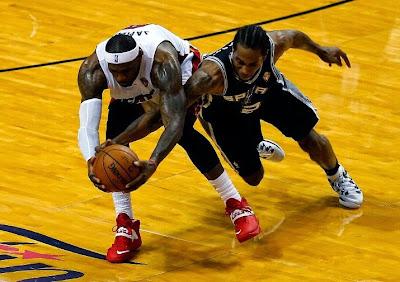 lebron james nba 140612 mia vs sas 16 game 4 Spurs Win Two Straight in Miami. Lead the Series 3 1.