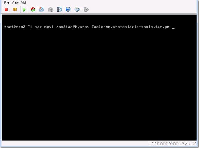 Untar VMware Tools
