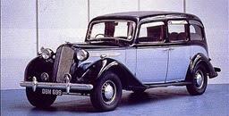 Vauxhall 1937 25 GL